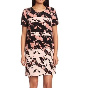 French Connection floral shift mini dress 6